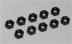 KYO1 N4032 Kyosho 4x3.2mm Steel Nut 10