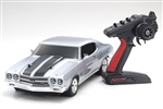 Kyosho RC 1970 Chevelle SS 454 LS6 Cortez Silver FAZER Mk2 RTR (Charger Battery Combo)