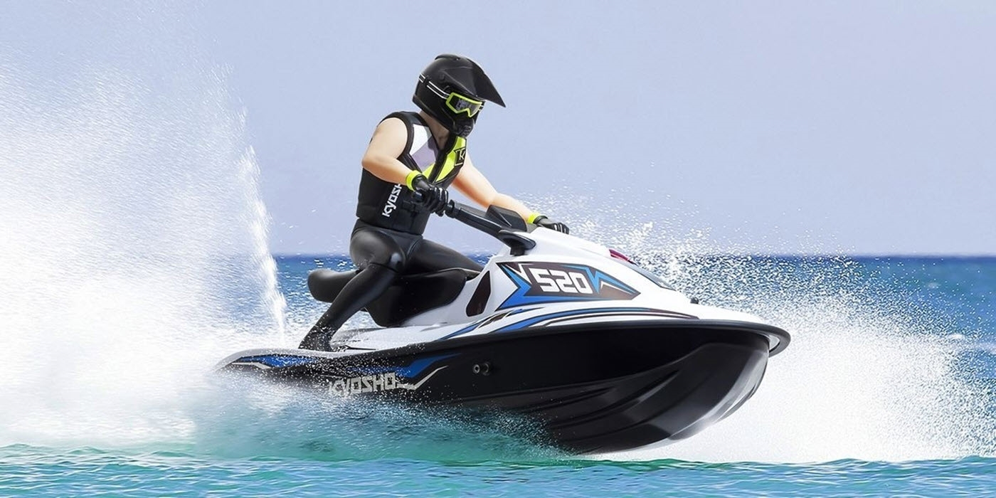 Kyosho  Wave Chopper 2.0 Electric Powered Watercraft  (Blue)