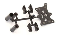 KYOIF481 Kyosho Fuel Tank Stay  Servo Tray Parts Set TKI3