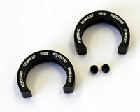 KYOIFW437 10 Kyosho MP9 10g Front knuckle Un Sprung Weight Set