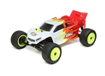 Losi 1/18 Mini-T 2.0 2WD Stadium Truck Brushed RTR, Red/White