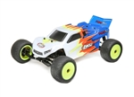 Losi 1/18 Mini-T 2.0 2WD Stadium Truck Brushed RTR, Blue/White