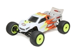 Losi 1/18 Mini-T 2.0 2WD Stadium Truck Brushed RTR, Grey/White