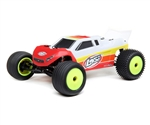 Losi Mini-T 2.0 1/18 RTR 2WD Brushless Stadium Truck (Red) w/2.4GHz Radio, Battery & Charger