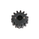 LOSA3574 1.0 Module Pitch Pinion 14T 8E