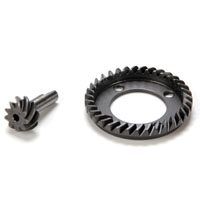 LOSB3571 Front Ring  Pinion Gear Set 10 T