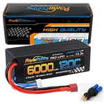 Powerhobby 4S 15.2v 6000mAh 120C Graphene + HV LiPo Battery Deans Plug Hard Case (6000mAh / 15.2v)