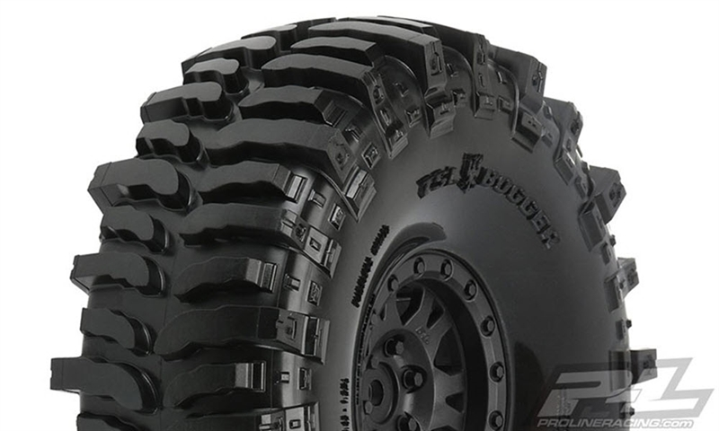 "PRO1013310 Pro-Line Interco Bogger 1.9"" G8 Rock Terrain Tires Mounted (2)"