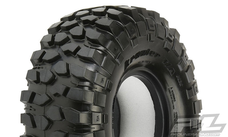 "PRO1013603 Pro-Line BFGoodrich Krawler T/A KX (Red Label) 1.9"" Predator Rock Terrain Truck Tires for Front or Rear 1.9"" Crawler (2)"