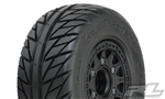 Pro-Line Street Fighter SC 2.2/3.0 Tires w/Raid Wheels (Black) (2) (M2) w/12mm Removable Hex