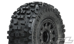 Pro-Line Badlands SC 2.2/3.0 Tires w/Raid Wheels (Black) (2) (M2) w/12mm Removable Hex