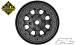 "PRO274715 Pro-Line Denali 1.9"" Black/Black Bead-Loc 8 Spoke Front or Rear Wheels"