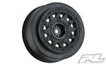 Pro-Line Raid Short Course Wheels (Black) (2) (Traxxas Slash) w/Removable 12mm Hex