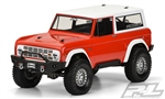 "PRO331360 Pro-Line 1973 Ford Bronco Clear Body for 12"" (305mm) Wheelbase Rock Crawler"