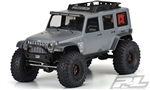 "PRO333600 Pro-Line Jeep Wrangler Unlimited Rubicon (Clear Body) for 12.3"" (313mm) Wheelbase Scale Crawlers"