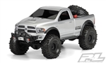"PRO343400 Pro-Line Ram 1500 (Clear Body) for 12.3"" (313mm) Wheelbase Scale Crawler"