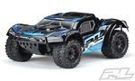 "Pro-Line Pre-Cut Monster Fusion Tough-Color (Black) Body for PRO-Fusion SC 4x4, Slash 2wd & Slash 4x4 with 2.8"" MT Tires"
