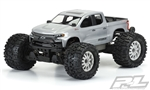 2019 Chevy Silverado Z71 Trail Boss (Clear Body) Traxxas Stampede 4x4