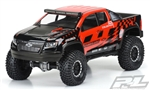 "PRO351700 Pro-Line Chevy Colorado ZR2 12.3"" Rock Crawler Body (Clear) (SCX10)"