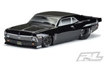 Pro-Line 1969 Chevrolet Nova Tough-Color Short Course Drag Car Body (Black)