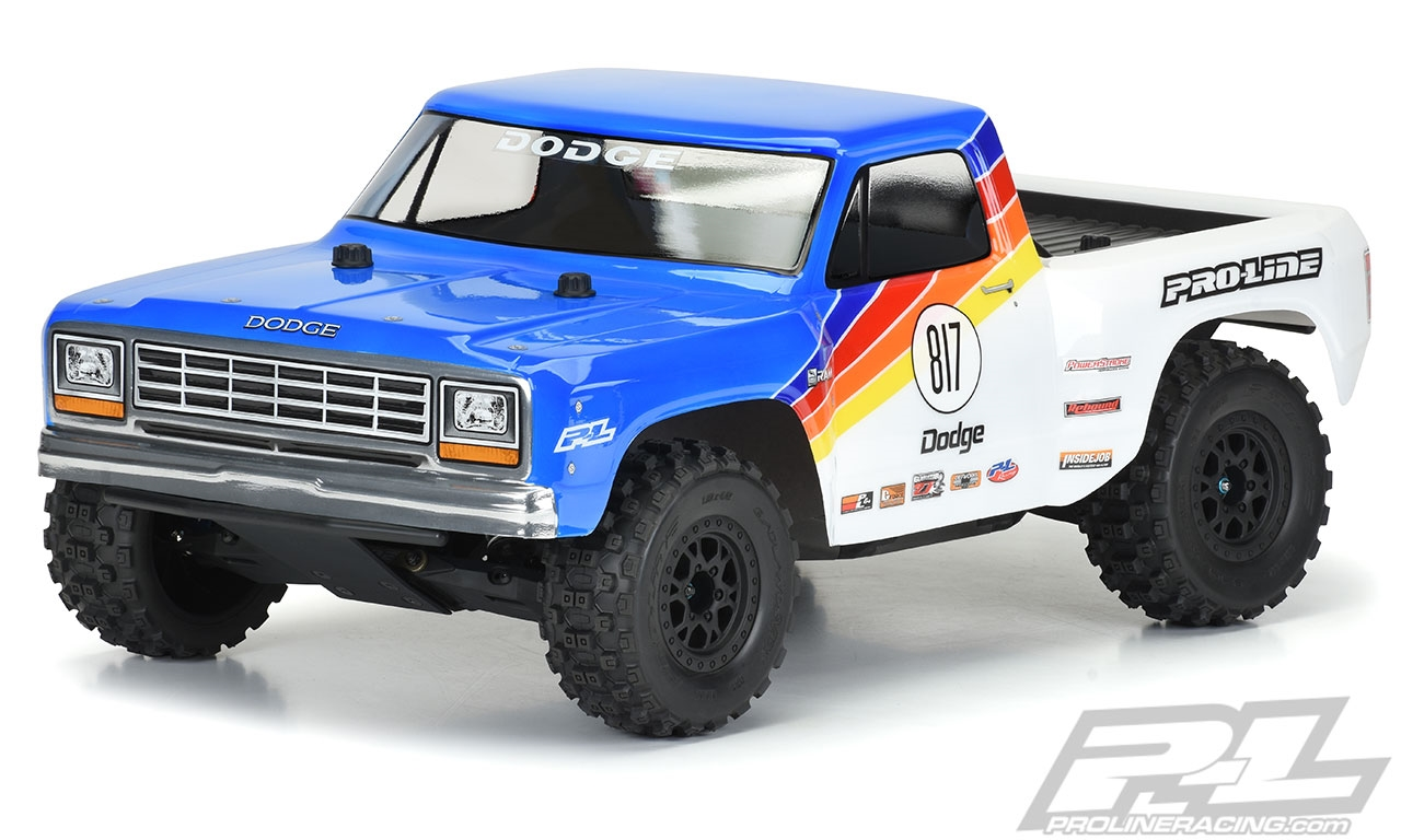 Pro-Line 1984 Dodge Ram 1500 Race Truck Body (Clear)