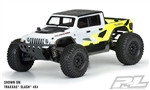 Pro-Line Jeep Gladiator Rubicon Body (Clear) (10th Monster Truck)