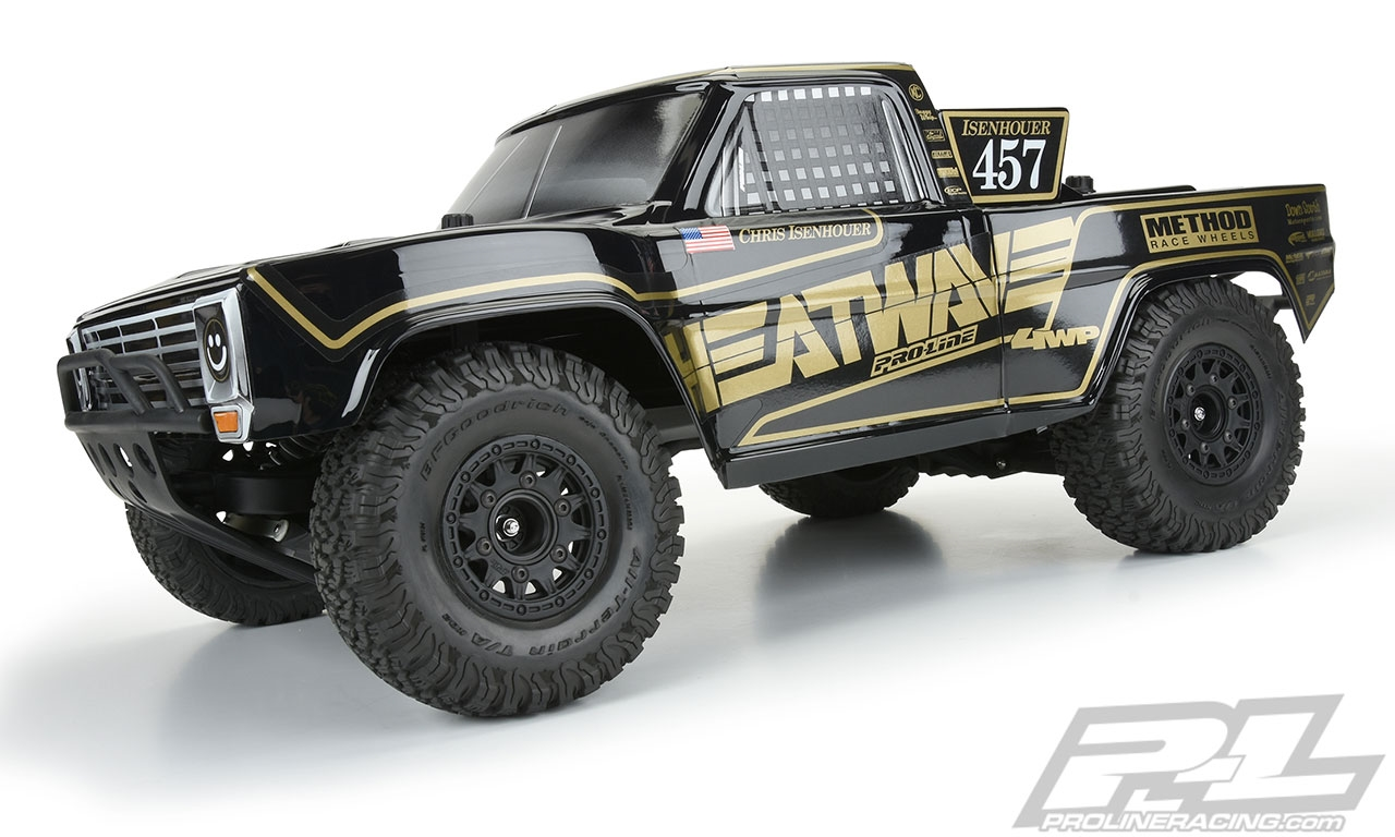 Pro-Line 1967 Ford F-100 Race Truck Heatwave Edition Tough-Color (Black) (Slash/Slash 4x4)
