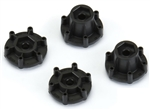 PRO633500 Pro-Line 6x30 to 12mm Hex Adapters (Narrow & Wide) (4)
