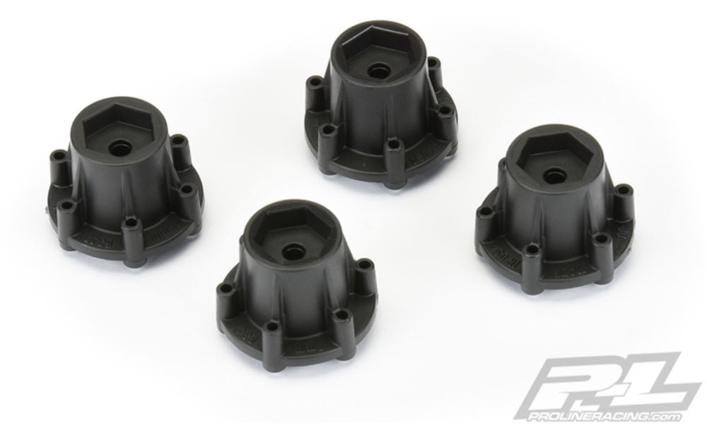 PRO634700 Pro-Line 6x30 to 14mm Hex Adapters (4)