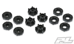 Pro-Line 6x30 to 12mm SC/ProTrac Hex Adapters (12)