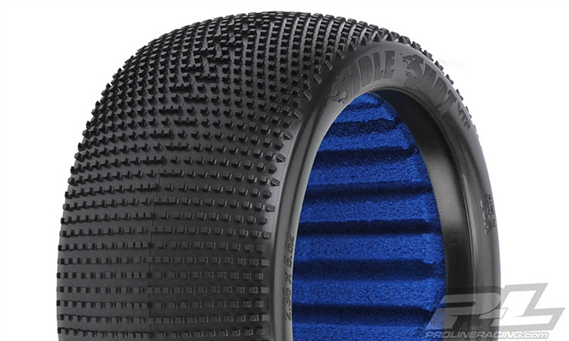 "PRO9033203 Pro-Line Hole Shot VTR 4.0"" S3 (Soft) Off-Road 1:8 Truck Tires for Front or Rear (2)"