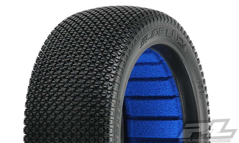 PRO9064202 Pro-Line Slide Lock S2 (Medium) Off-Road 1:8 Buggy Tires for Front or Rear (2)