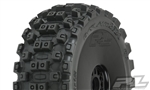 PRO906741 Pro-Line Badlands MX Pre-Mounted 1/8 Buggy Tires (Black) (2) (M2) w/Velocity V2 Wheel
