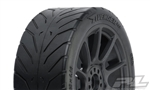 Pro-Line Avenger HP Belted Pre-Mounted 1/8 Buggy Tires (2) (Black) (S3) w/Mach 10 Wheel