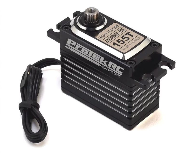 "PTK-155T ProTek RC 155T Digital ""High Torque"" Metal Gear Servo (High Voltage/Metal Case)"