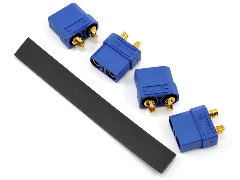 "PTK-5037 ProTek RC 4.5mm ""TruCurrent"" XT90 Polarized Battery Connectors (4 Female)"
