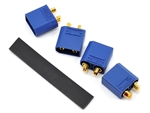 "PTK-5038 ProTek RC 4.5mm ""TruCurrent"" XT90 Polarized Device Connectors (4 Male)"