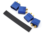 "PTK-5039 ProTek RC 4.5mm ""TruCurrent"" XT90 Polarized Connectors (2 Male/2 Female)"