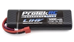 PTK-5129-19 ProTek RC 2S 100C Si-Graphene + HV LiPo Stick Pack TCS Battery (7.6V/5000mAh) w/T-Style Connector (ROAR Approved)