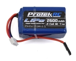 PTK-5161 ProTek RC LiPo Kyosho & Tekno Hump Receiver Battery Pack (7.4V/2600mAh)