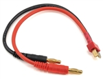 ProTek RC Heavy Duty T-Style Ultra Plug Charge Lead (Male to 4mm Banana)