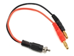 PTK-5240 ProTek RC Glow Ignitor Charge Lead (Ignitor Connector to 4mm Bullet Connector)