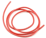 ProTek RC 14awg Red Silicone Hookup Wire (1 Meter)