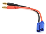 ProTek RC Heavy Duty EC5 Charge Lead (Male EC5 to 4mm Banana Plugs)