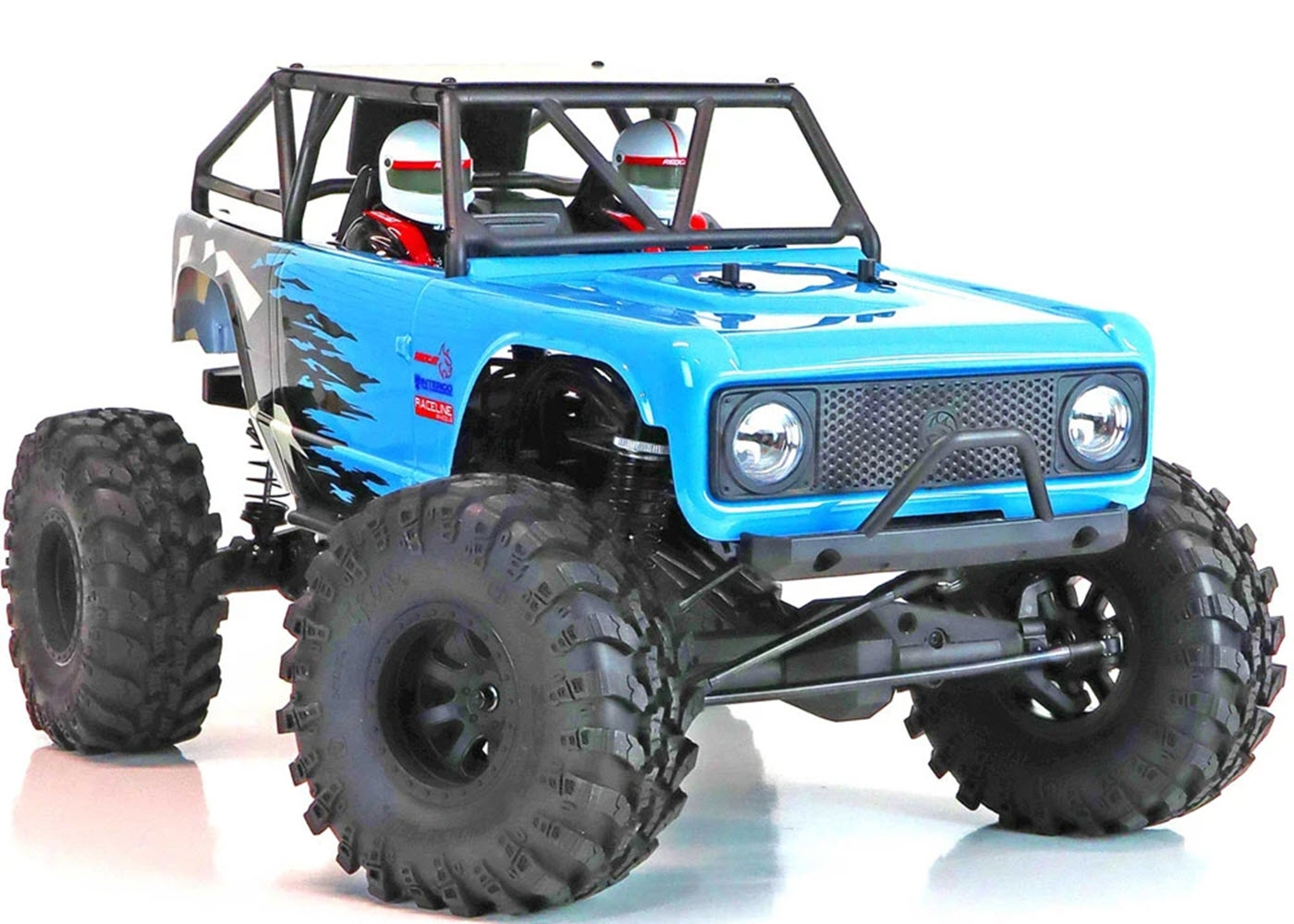Redcat Wendigo 1/10 RTR 4WD Brushless Solid Axle Rock Racer w/2.4GHz Radio