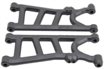 RPM Arrma Typhon 4x4 3S BLX Rear Suspension Arm Set (Black)