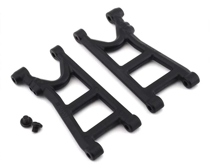 RPM Arrma 4x4 Rear Suspension Arm Set (Black)