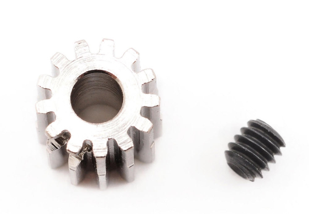Robinson Racing Steel 48P Pinion Gear (1/8th Bore) (13T)