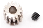 Robinson Racing Steel 48P Pinion Gear (1/8th Bore) (14T)